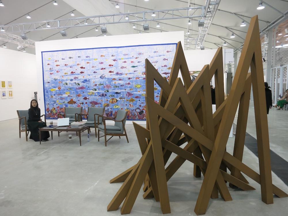 Blain Southern Booth at the West Bund Art Fair 2018