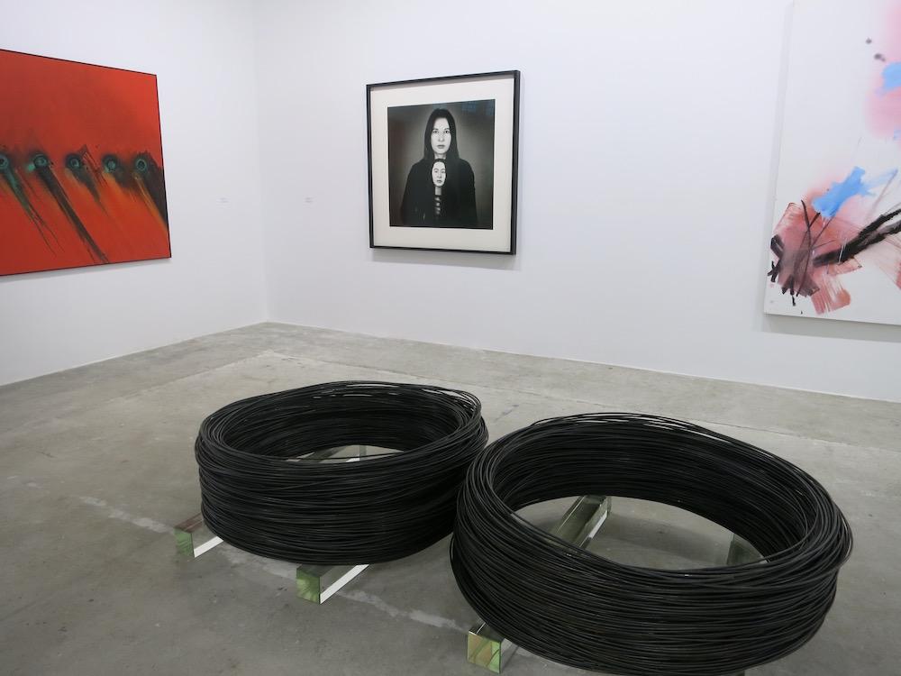 Gallery Krinzinger Booth at the West Bund art fair 2018