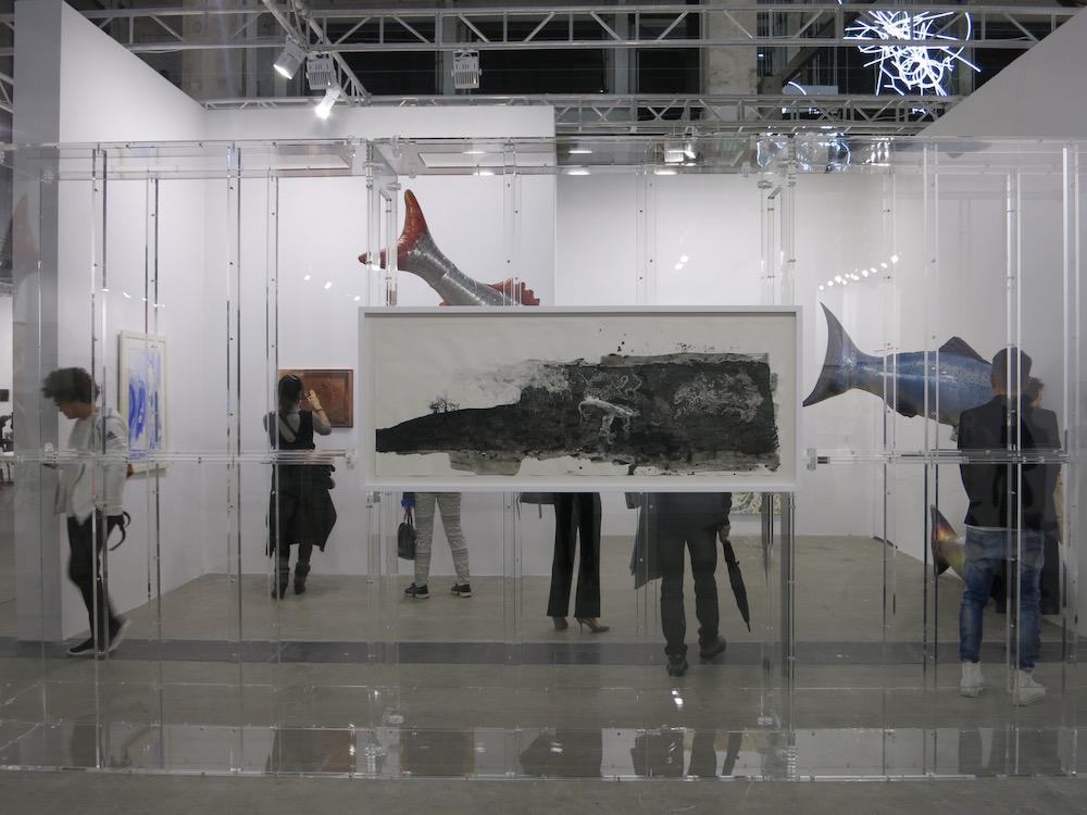 Gladstone Gallery Booth at the West Bund Art Fair 2018