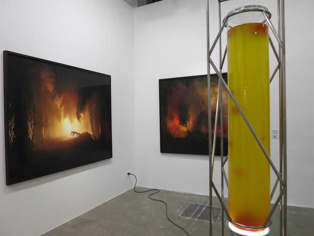 Julian Charrière, Ben Brown Fine Arts at the West bund Art Fair 2018